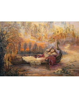 Puzzle Grafika Kids - Josephine Wall: Dreams of Camelot, 100 piese (59296)
