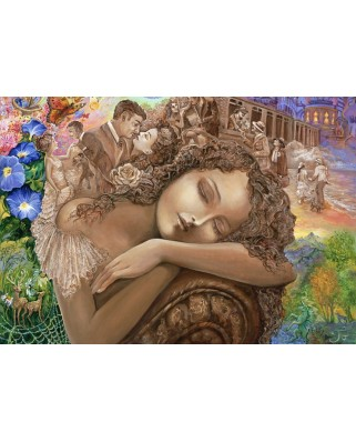 Puzzle Grafika Kids - Josephine Wall: If Only, 100 piese (59301)