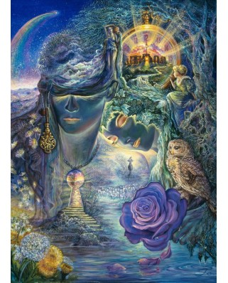 Puzzle Grafika Kids - Josephine Wall: Key to Eternity, 300 piese (59241)