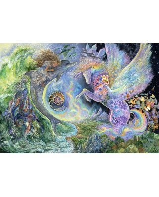 Puzzle Grafika Kids - Josephine Wall: Magical Meeting, 100 piese (59250)