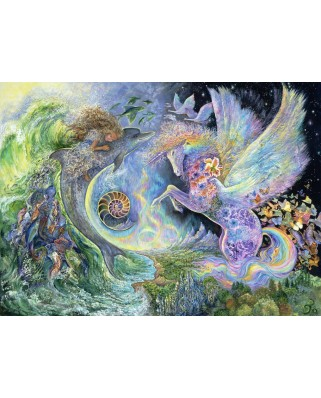 Puzzle Grafika Kids - Josephine Wall: Magical Meeting, 300 piese (59246)
