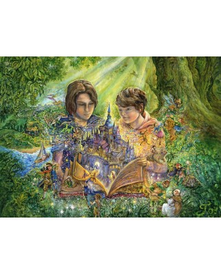 Puzzle Grafika Kids - Josephine Wall: Magical Storybook, 300 piese (59307)