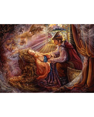 Puzzle Grafika Kids - Josephine Wall: Sleeping Beauty, 300 piese (59670)