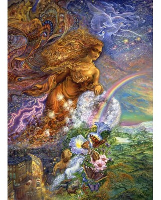 Puzzle Grafika Kids - Josephine Wall: Wind of Change, 300 piese (59278)