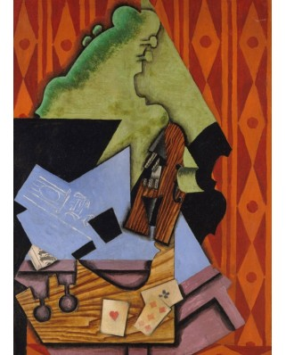 Puzzle Grafika Kids - Juan Gris: Violin and Playing Cards on a Table, 1913, 300 piese (53690)