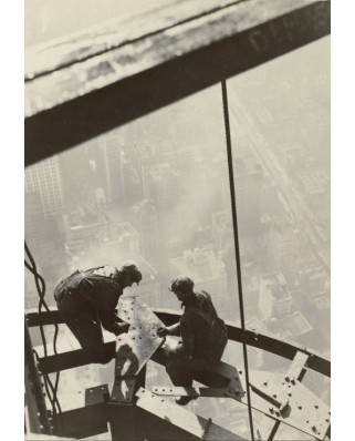 Puzzle Grafika Kids - Lewis W. Hine: Empire State Building, New York, 1931, 100 piese (57540)