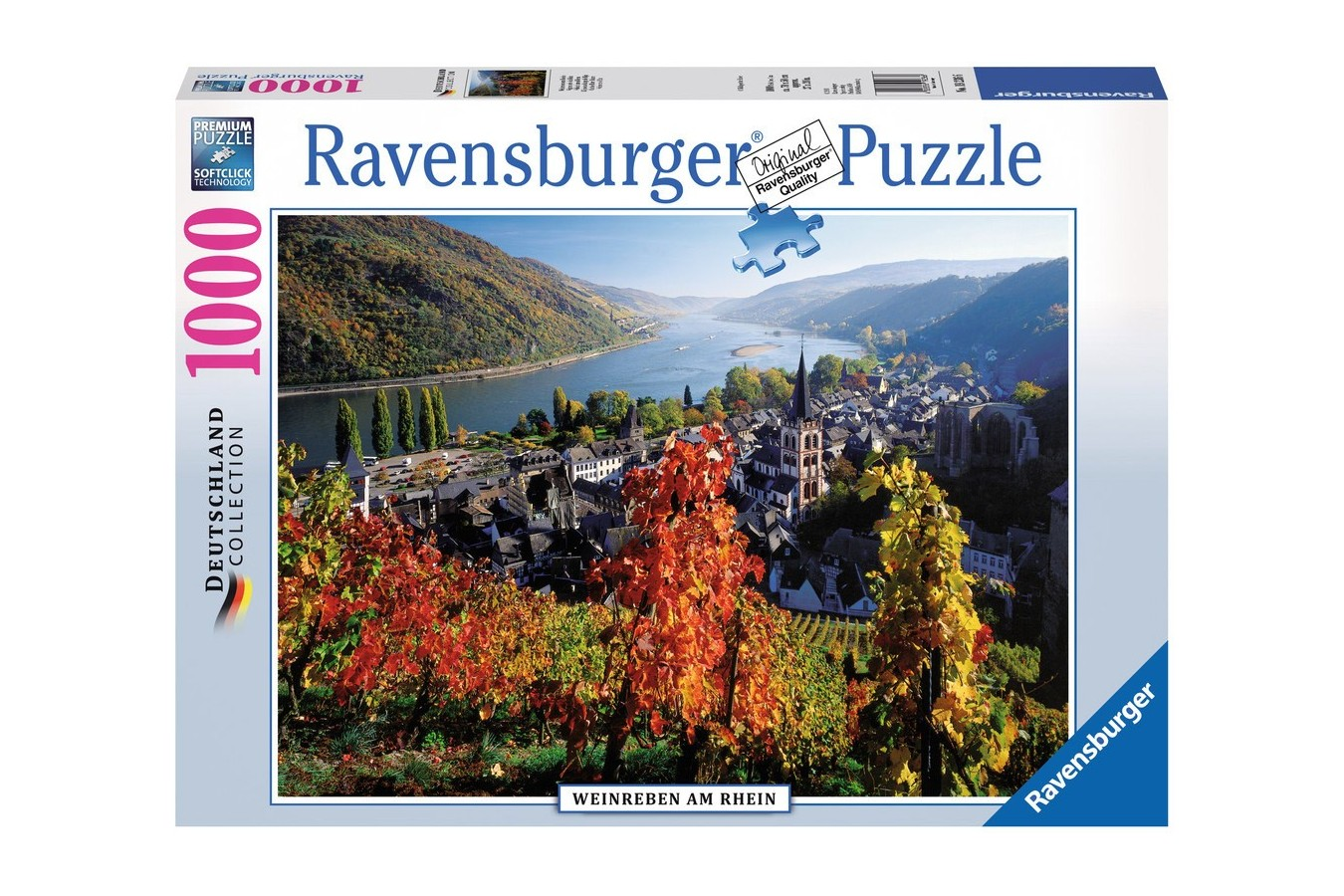 Puzzle Ravensburger - Raul Rin, 1.000 piese (19236)