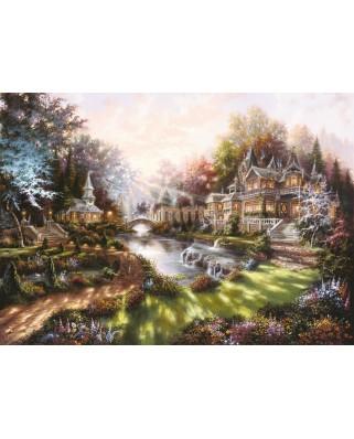 Puzzle Ravensburger - Revarsatul Zorilor, 1000 piese (15944)