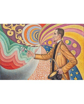 Puzzle Grafika Kids - Paul Signac: Portrait of Felix Feneon, 1890, 100 piese (50803)