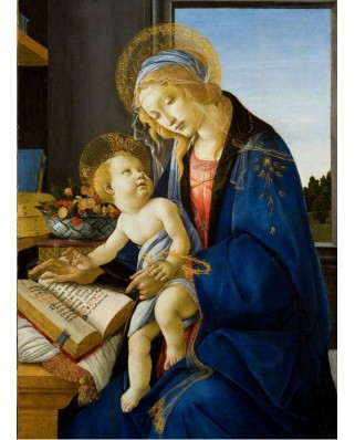 Puzzle Grafika Kids - Sandro Botticelli: The Madonna of the Book, 1480, 300 piese (53658)