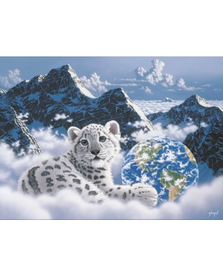 Puzzle Grafika Kids - Schim Schimmel: Bed of Clouds, 300 piese (59713)