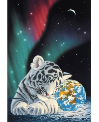 Puzzle Grafika Kids - Schim Schimmel: Earth Light, 12 piese XXL (59757)