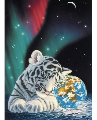 Puzzle Grafika Kids - Schim Schimmel: Earth Light, 300 piese (59753)