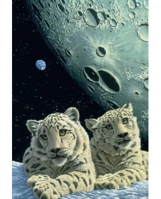 Puzzle Grafika Kids - Schim Schimmel: Lair of the Snow Leopard, 12 piese XXL (59819)