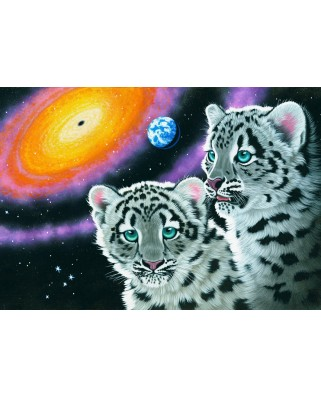 Puzzle Grafika Kids - Schim Schimmel: Miracle of the Universe, 100 piese (61716)