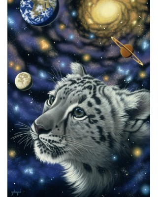 Puzzle Grafika Kids - Schim Schimmel: One with the Universe, 300 piese (59733)