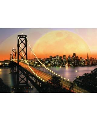 Puzzle Ravensburger - San Francisco Noaptea, 3.000 piese (17039)