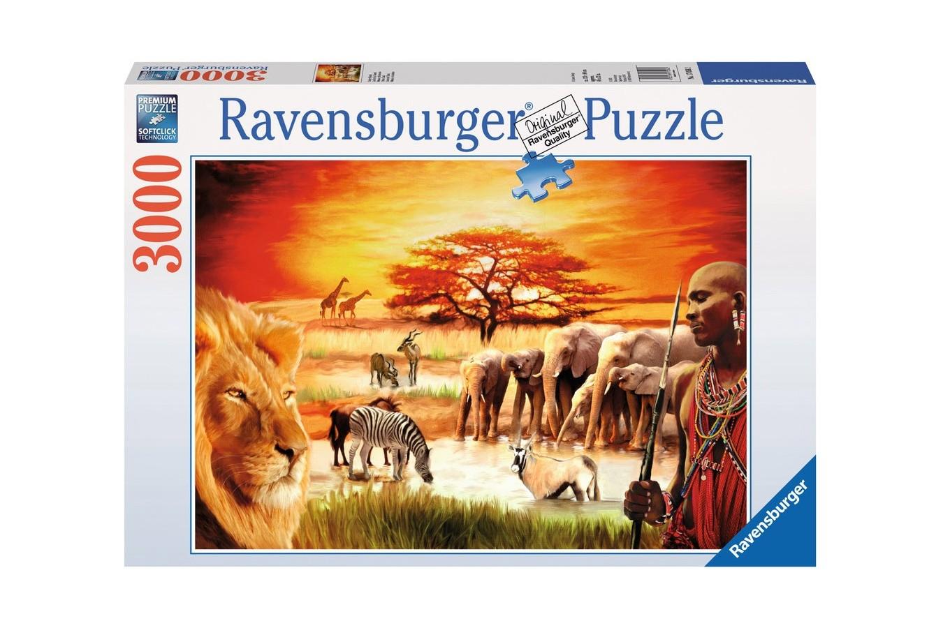 Puzzle Ravensburger - Savana, 3.000 piese (17056)