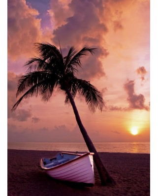 Puzzle Grafika Kids - Sunset in Paradise, 300 piese (53161)