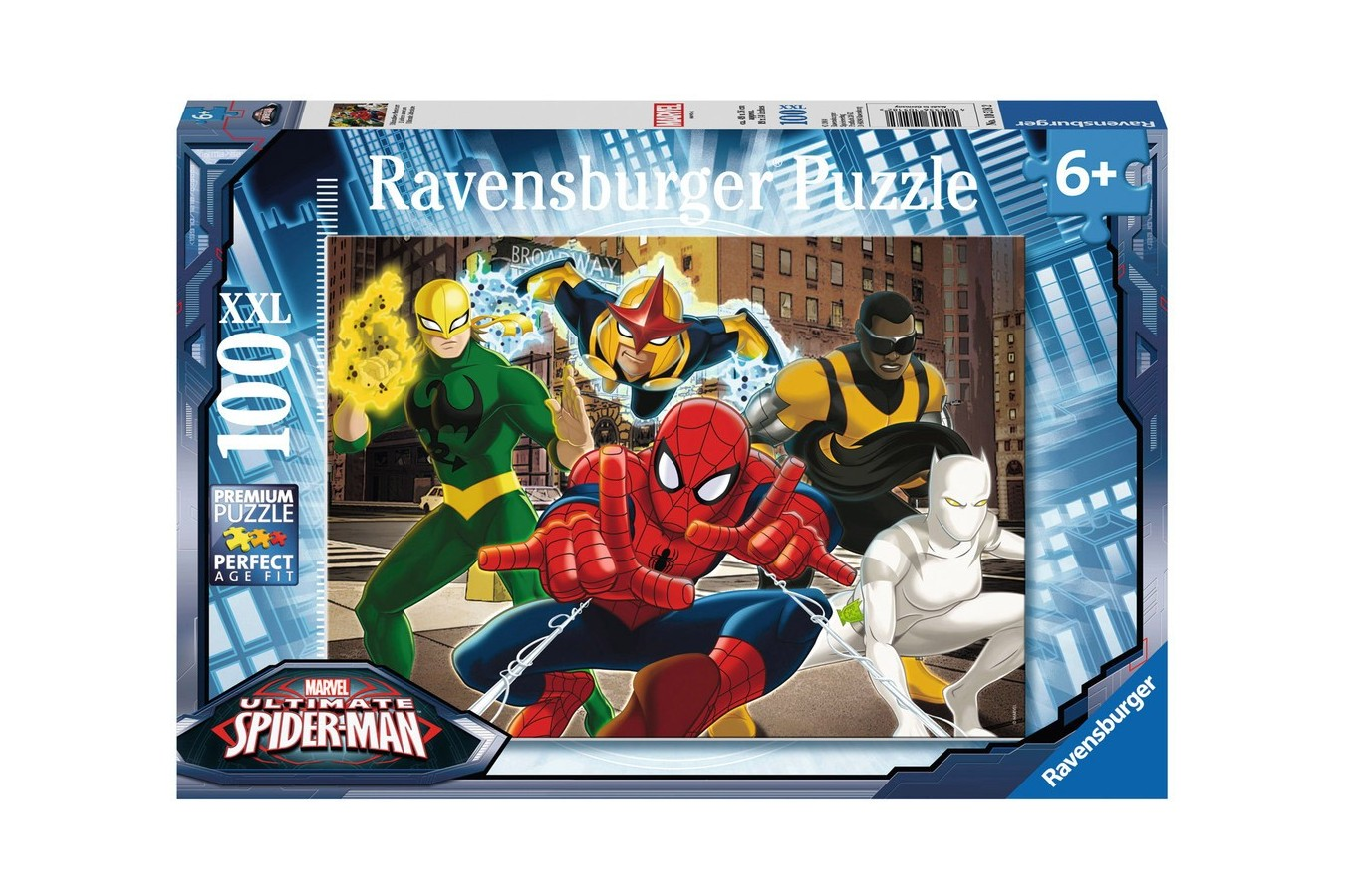 Puzzle Ravensburger - Spiderman, 100 piese (10518)