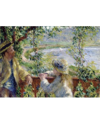 Puzzle magnetic Grafika Kids - Auguste Renoir: Near the Lake, 1879, 24 piese (49720)