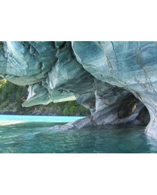 Puzzle magnetic Grafika Kids - Blue Marble Cave, Chile, 24 piese (53519)
