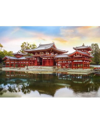 Puzzle magnetic Grafika Kids - Byodo-In Temple in Kyoto, Japan, 24 piese (53087)