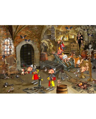 Puzzle magnetic Grafika Kids - Francois Ruyer: Dungeon, 24 piese (58392)