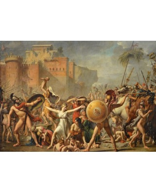 Puzzle magnetic Grafika Kids - Jacques-Louis David: The Intervention of the Sabine Women, 1799, 24 piese (52260)
