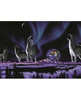 Puzzle magnetic Grafika Kids - Schim Schimmel: Earth Song, 24 piese (59869)