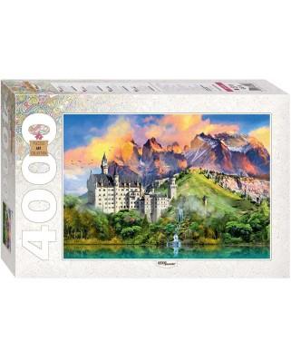 Puzzle Step - Neuschwanstein, Germany, 4.000 piese (60376)