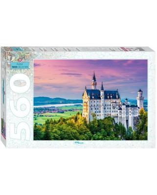 Puzzle Step - Neuschwanstein, Germany, 560 piese (60271)