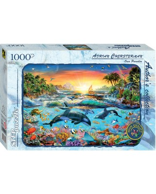 Puzzle Step - Orca Paradise, 1.000 piese (60321)