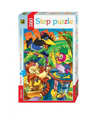 Puzzle Step - Parrot Kesha, 360 piese (63758)