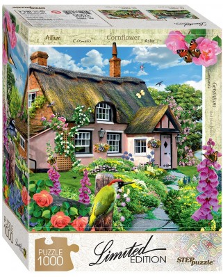 Puzzle Step - Pink Cottage, 1.000 piese (61492)