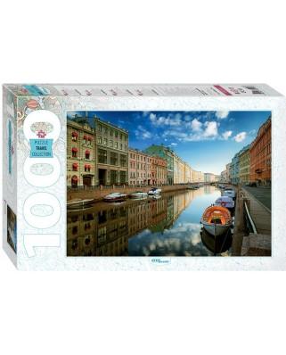 Puzzle Step - Saint Petersburg. Moyka River, 1.000 piese (60296)