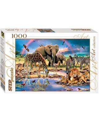 Puzzle Step - Savanna, 1.000 piese (60282)