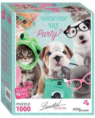 Puzzle Step - Studio Pets, 1.000 piese (63764)