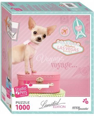 Puzzle Step - Studio Pets, 1000 piese (63766)