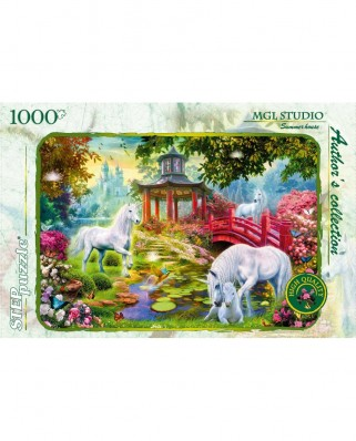Puzzle Step - Summer House, 1.000 piese (60316)