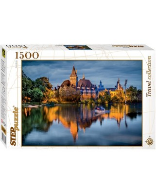 Puzzle Step - The castle by the lake, 1.500 piese (60340)