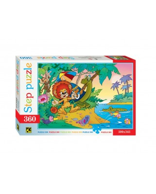 Puzzle Step - The Lion and the Turtle, 360 piese (63738)