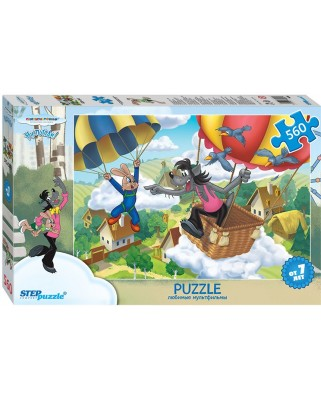 Puzzle Step - The Rabbit and the Wolf, 560 piese (63751)