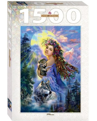 Puzzle Step - The Woman and the Wolves, 1.500 piese (60350)