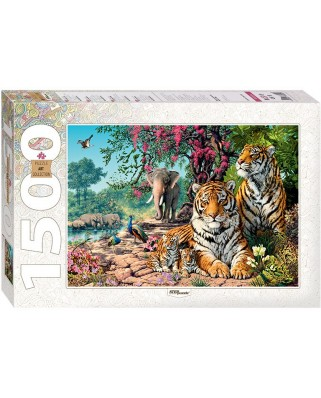 Puzzle Step - Tigers, 1.500 piese (60343)