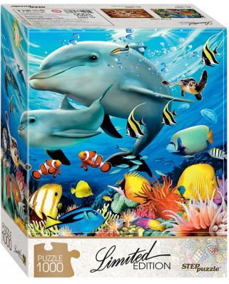 Puzzle Step - Undersea World, 1.000 piese (61503)