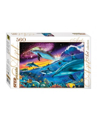 Puzzle Step - Underwater World, 560 piese (60269)