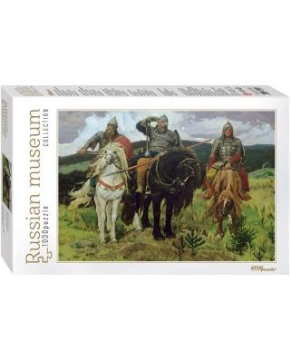 Puzzle Step - Viktor Vasnetsov: Bogatyrs, 1.000 piese (60302)