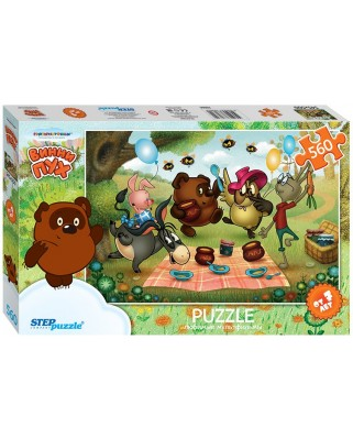Puzzle Step - Winnie The Pooh, 560 piese (63762)