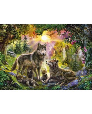 Puzzle Step - Wolves, 1.500 piese (60336)